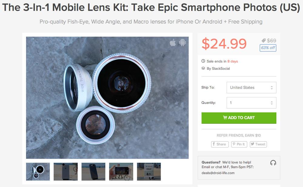 lens kit deal