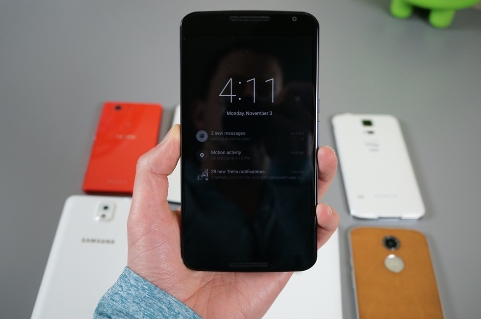 Nexus 6 Feature: Ambient Display is a Very Cool Take on Moto