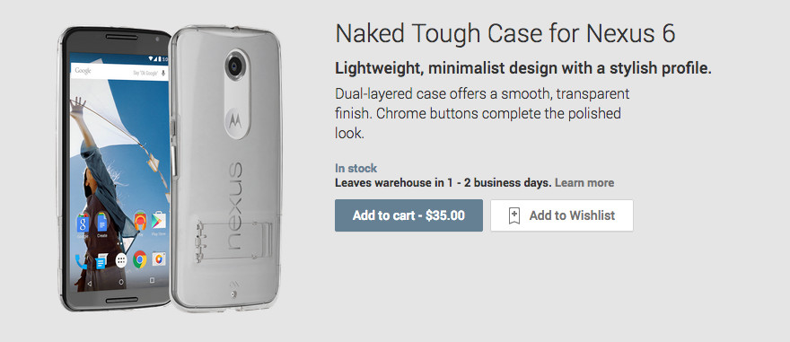 Naked tough case for nexus 6 images 21