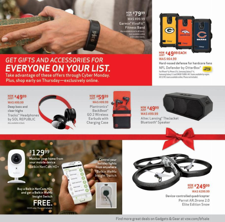 Verizon Black Friday 2014 Deals: Free Galaxy S5, Moto X ...