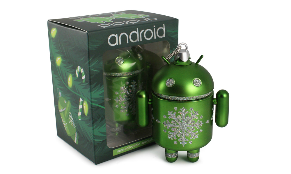 Android-Figurine collectible ornament