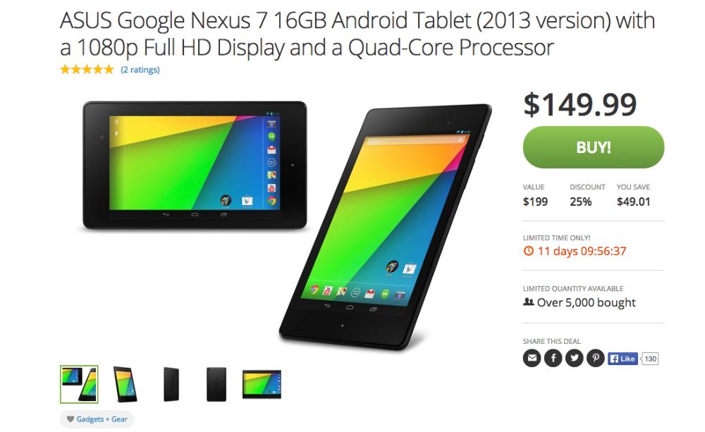 Nexus 7 Groupon