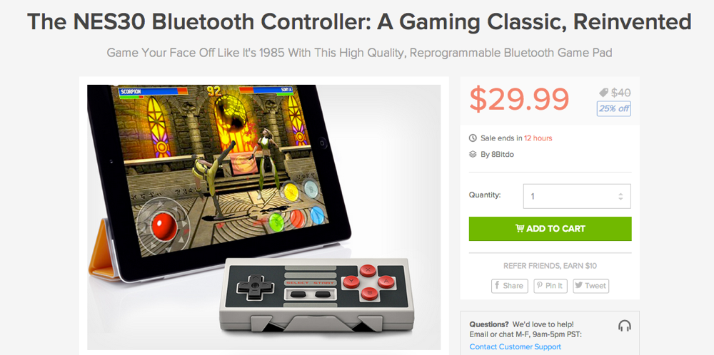 The_NES30_Bluetooth_Controller__A_Gaming_Classic__Reinvented___DroidLife_Deals