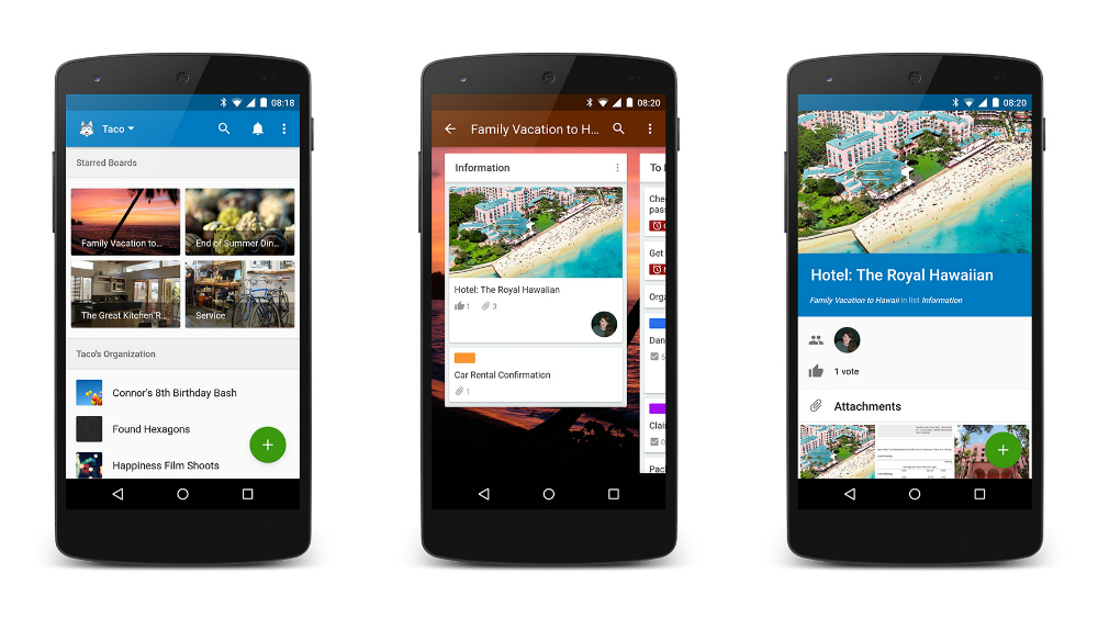 Trello Update Hits Google Play Includes Material Design