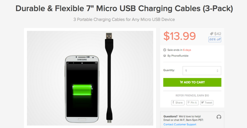 USB Cable Pack Deals