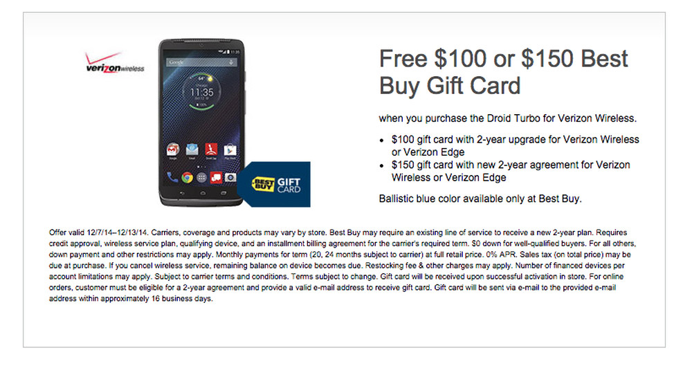 droid turbo deal