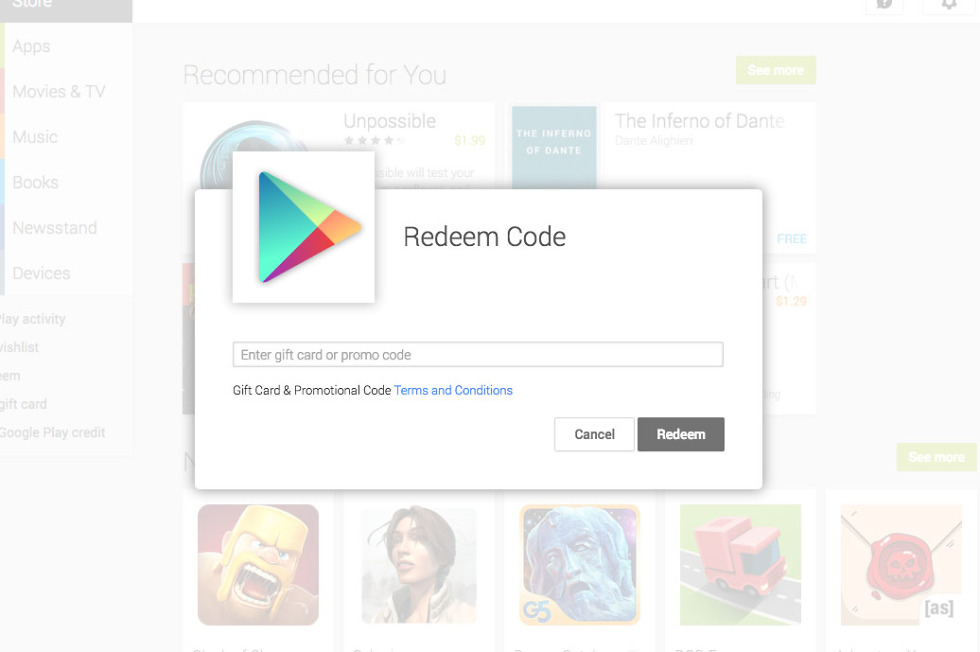 $100 in Google Play Gift Cards Up for Grabs! (Updated: All Gone