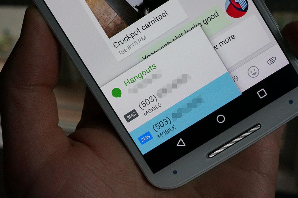 hangouts googlevoice
