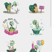 hangouts stickers4