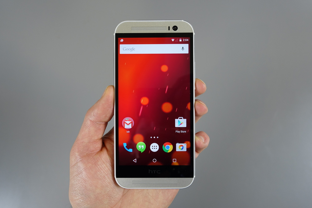 Video: HTC One (M8) GPE Lollipop Tour! | Droid Life