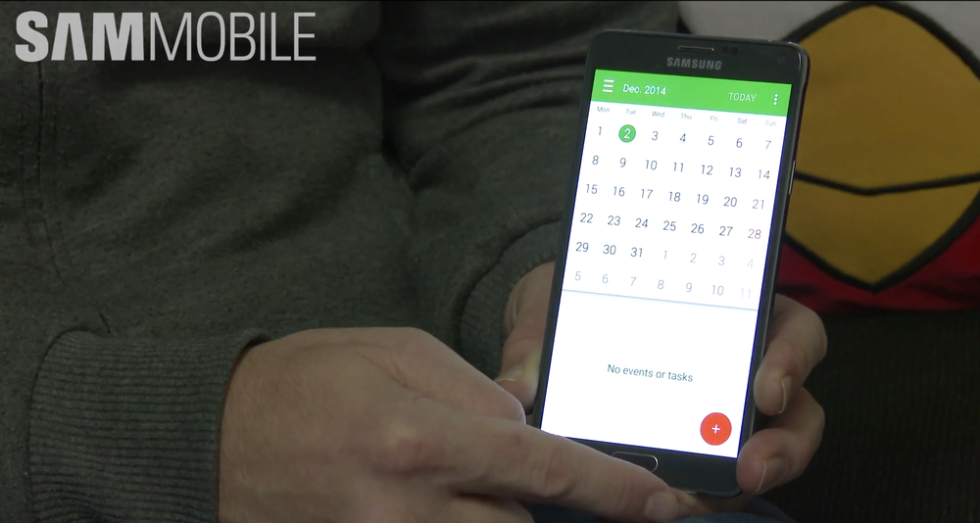 Video of Galaxy Note 4 Running Lollipop Emerges, Material Design