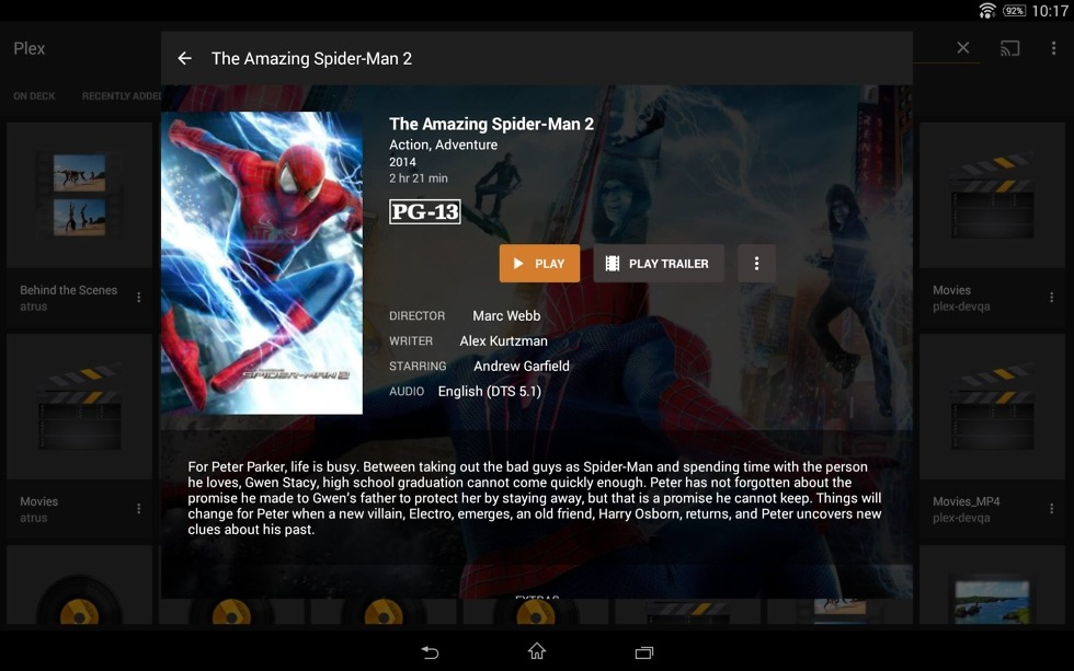Plex Updated for Android, Brings New Pricing Model and Modern UI