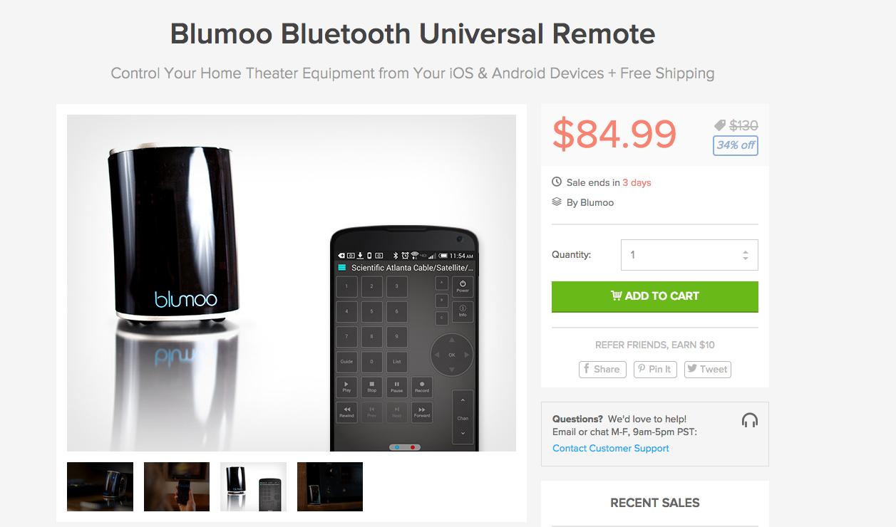 Blumoo_Bluetooth_Universal_Remote___DroidLife_Deals