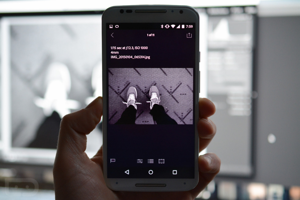 Adobe's Lightroom 2 0 for Android Features In-App Camera That Shoots