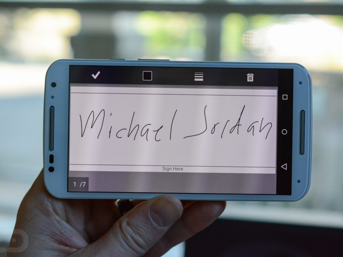 How to: Sign a PDF on Android Without Printing a Thing