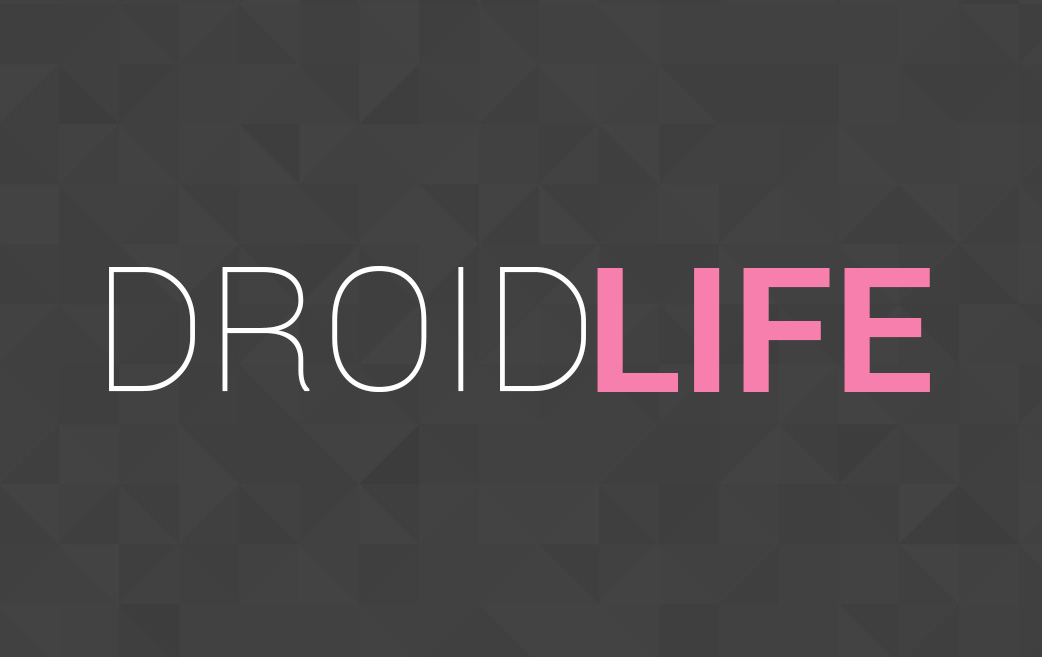 droid life logo prism text