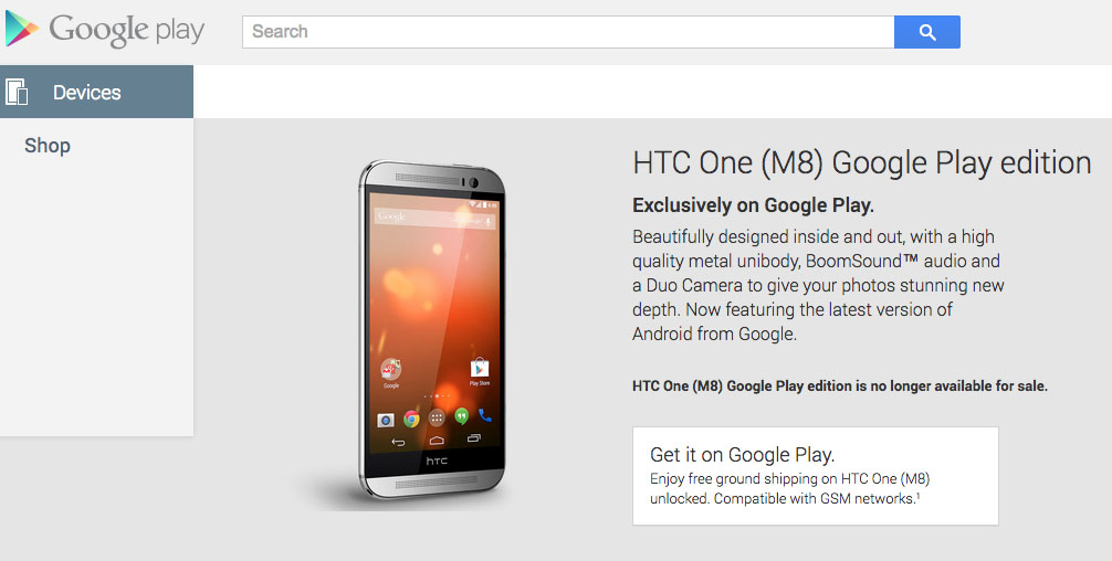 Htc one m9: biggest mistake was google play edition.
