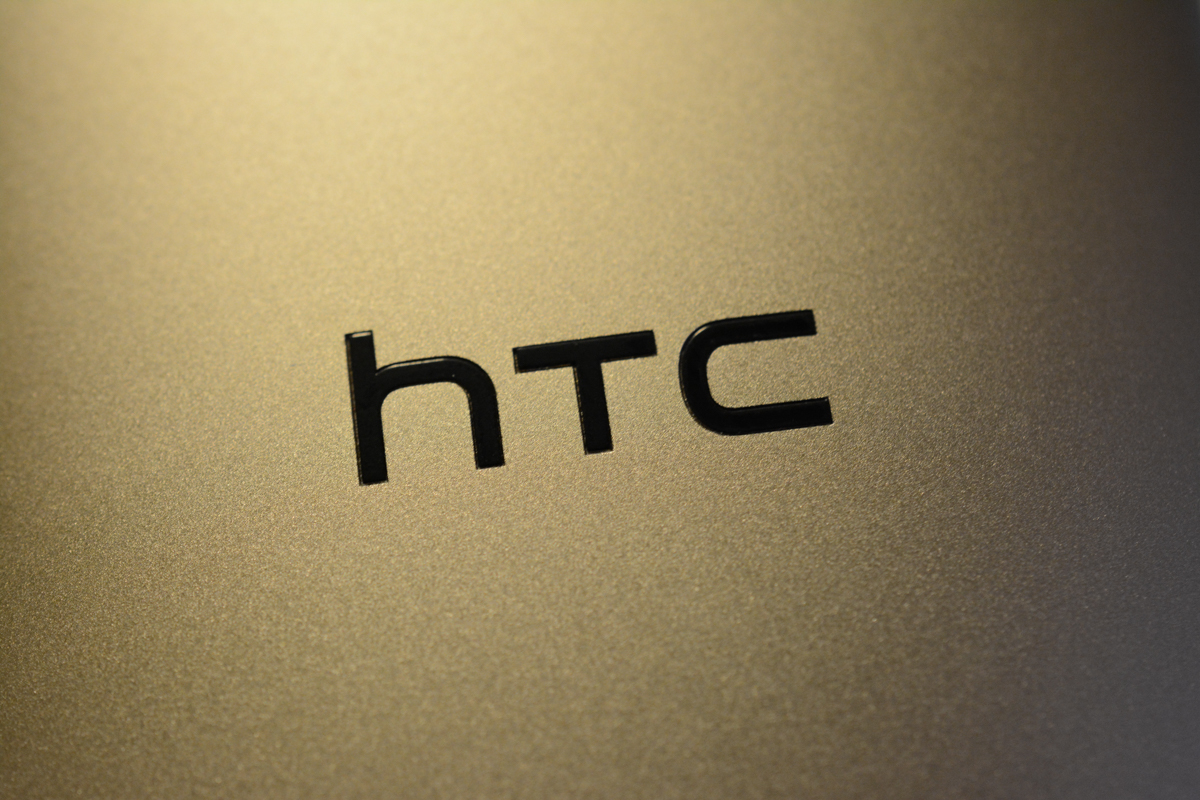 htc logo gold one m8