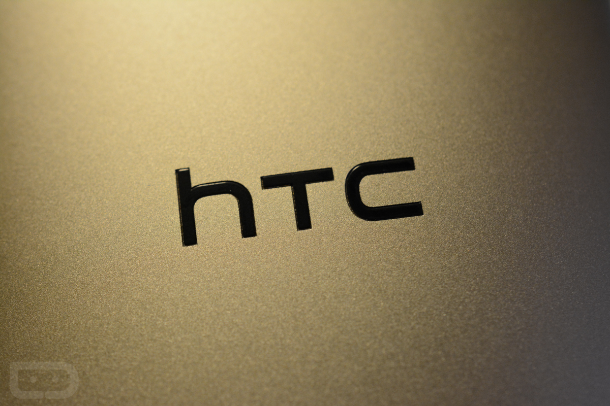 htc logo one m8 gold