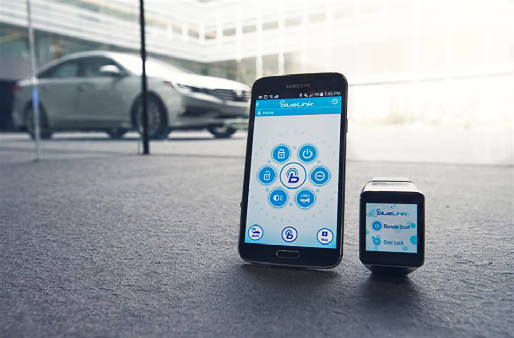 hyundai announces blue link android wear app for starting your car remotely droid life. Black Bedroom Furniture Sets. Home Design Ideas
