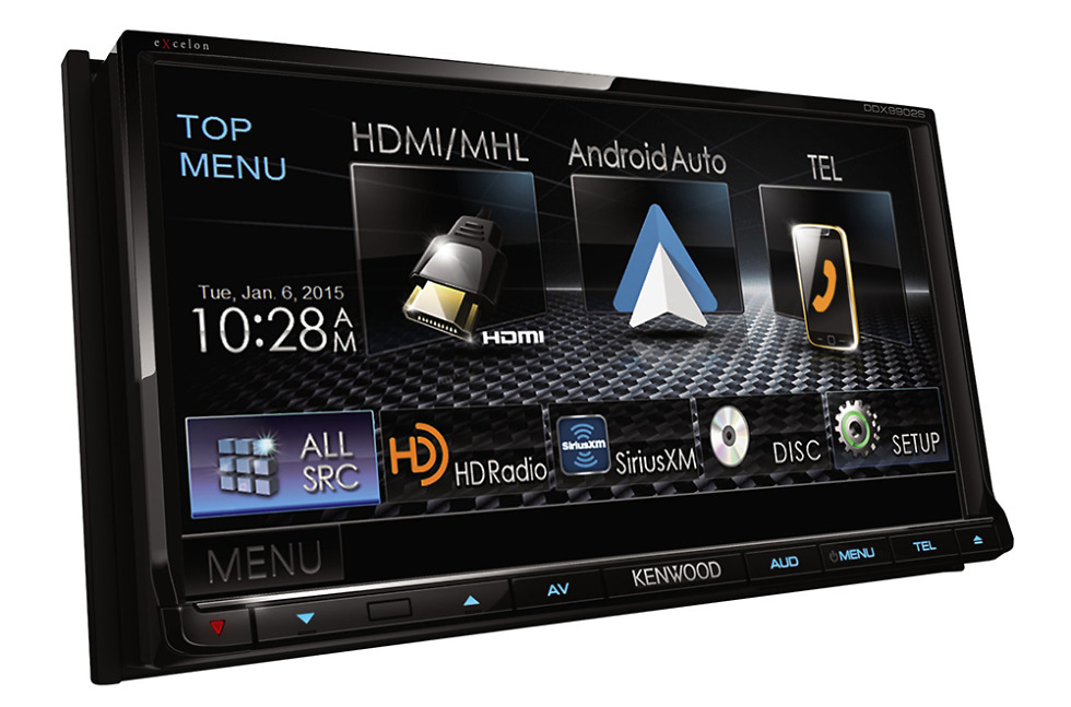 kenwood announces the ddx9902s with android auto droid life. Black Bedroom Furniture Sets. Home Design Ideas