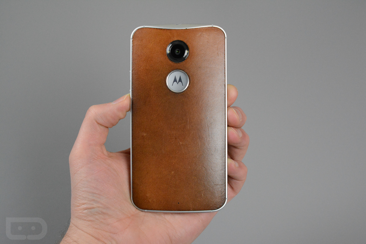best website 286c2 95ad5 This is How Beautiful the Leather Looks on a Moto X (2nd Gen) After ...