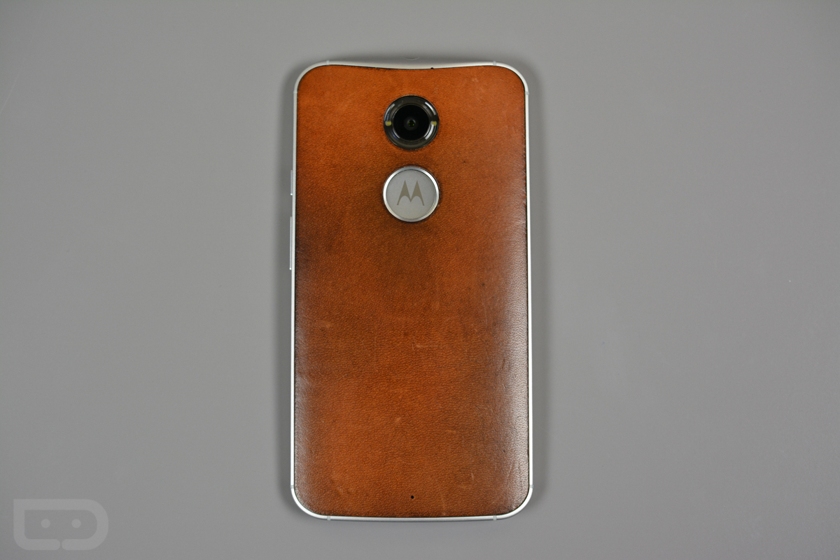 moto x leather 4 months later