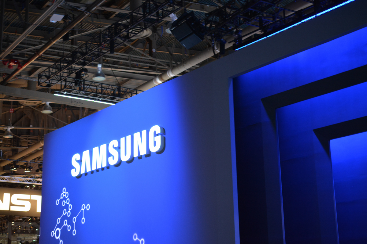 samsung ces booth-3