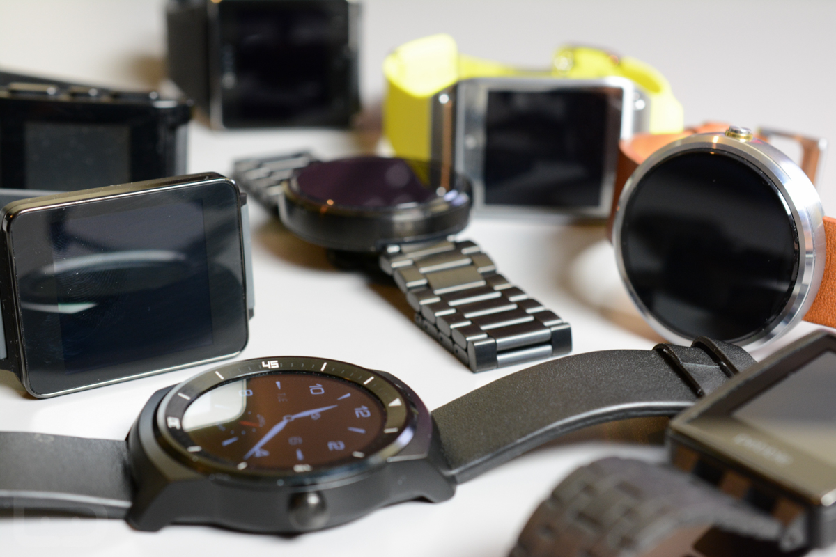 smartwatches android wear