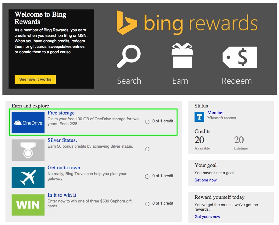 100gb bing rewards