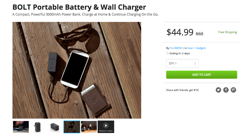 BOLT_Portable_Battery___Wall_Charger___DroidLife_Deals