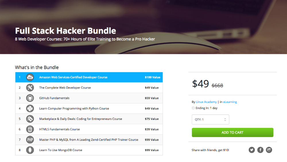 Full Stack Hacker Bundle