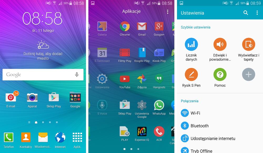 Galaxy Note 4 Lollipop - 2