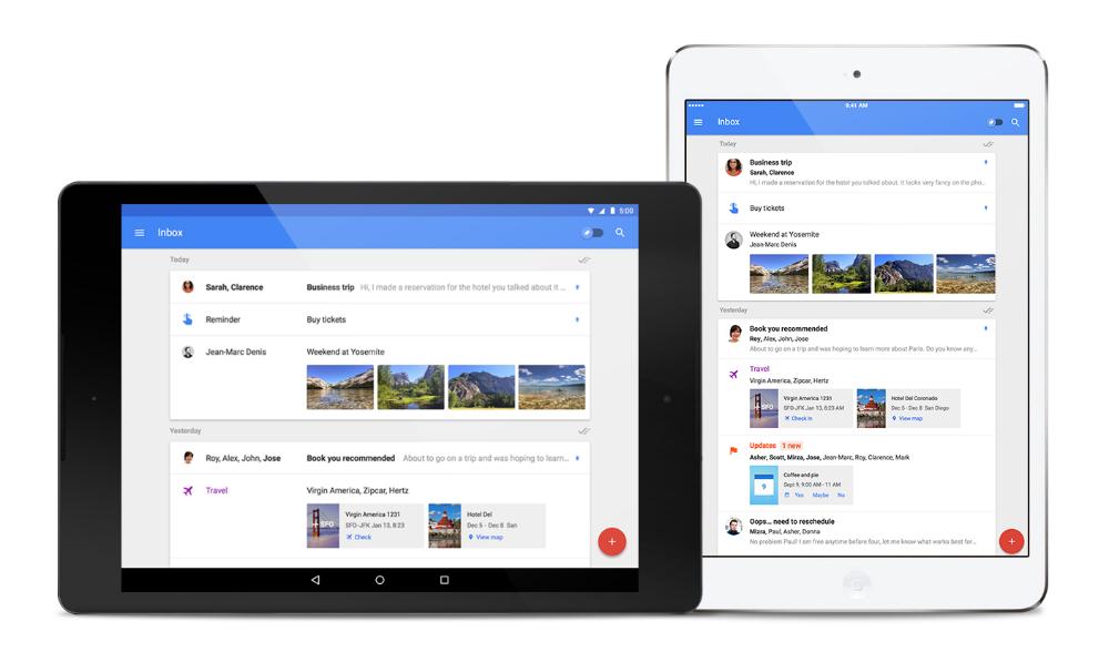 Inbox tablets