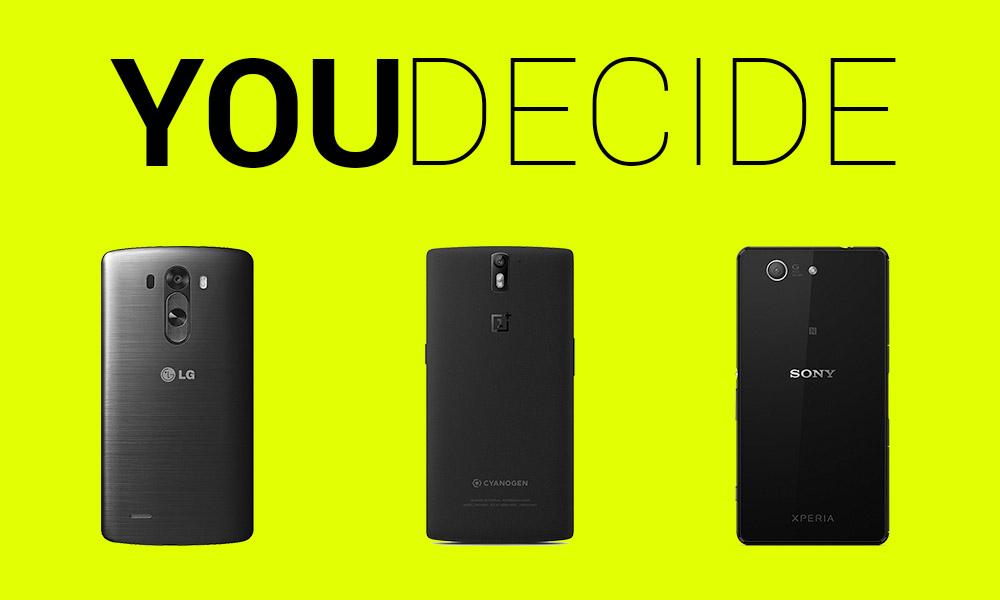 YOU DECIDE PHONES
