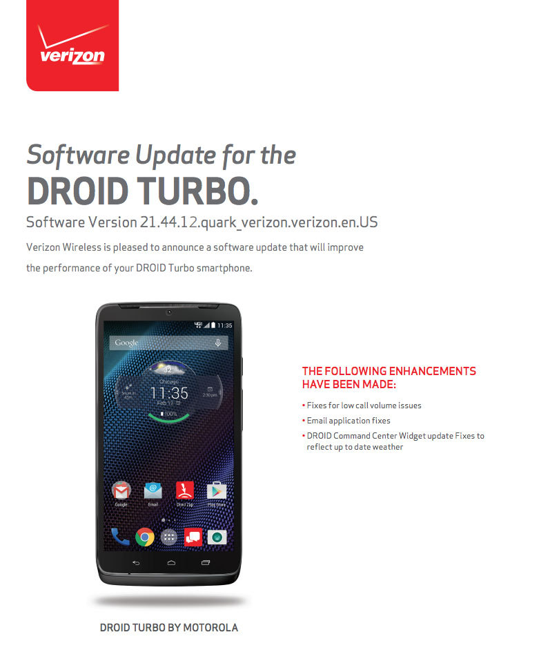 droid turbo update