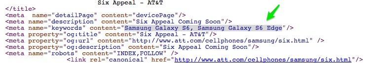 galaxy s6 edge att