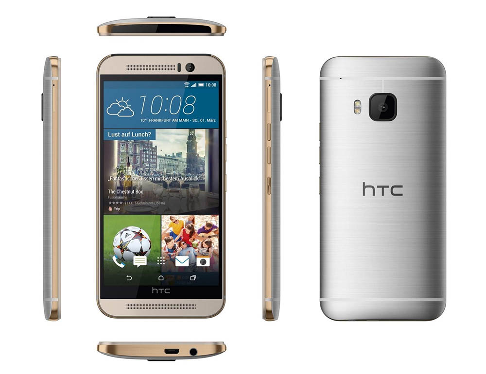 htc one m9 silvergold1