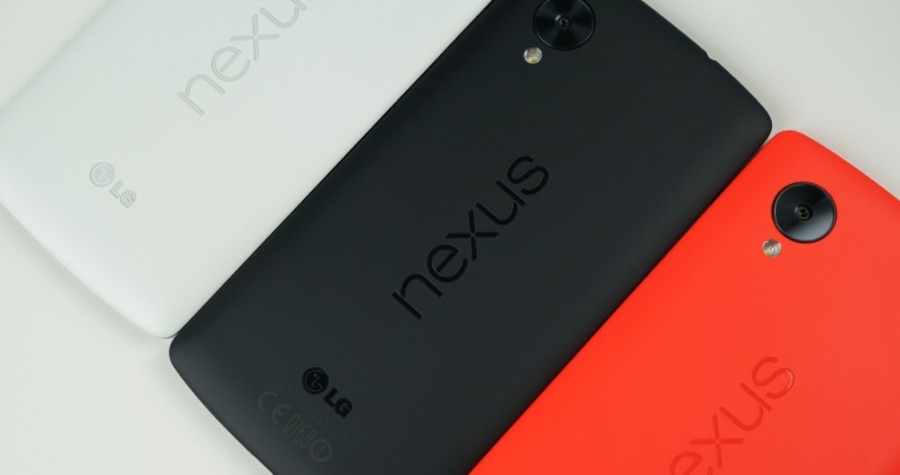nexus 5 black white red