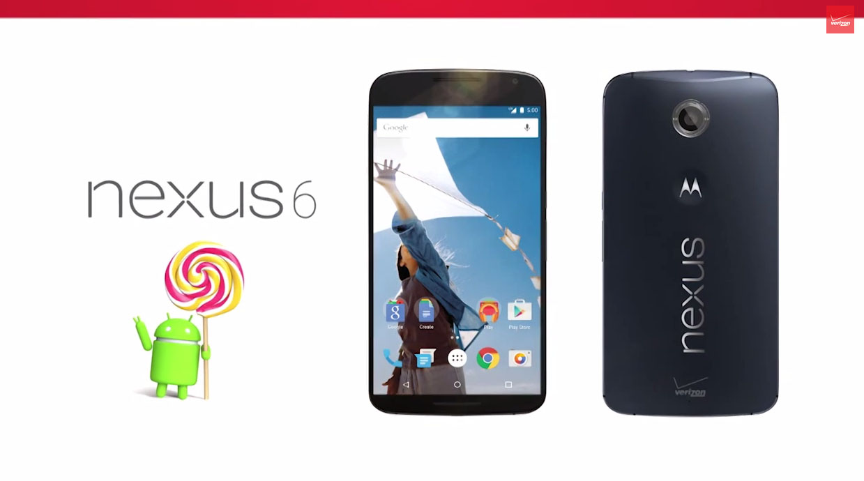 verizon nexus 6