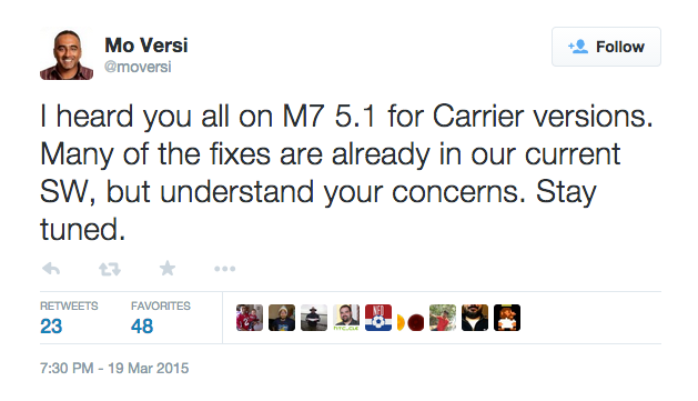 Mo_Versi_on_Twitter___I_heard_you_all_on_M7_5_1_for_Carrier_versions__Many_of_the_fixes_are_already_in_our_current_SW__but_understand_your_concerns__Stay_tuned__