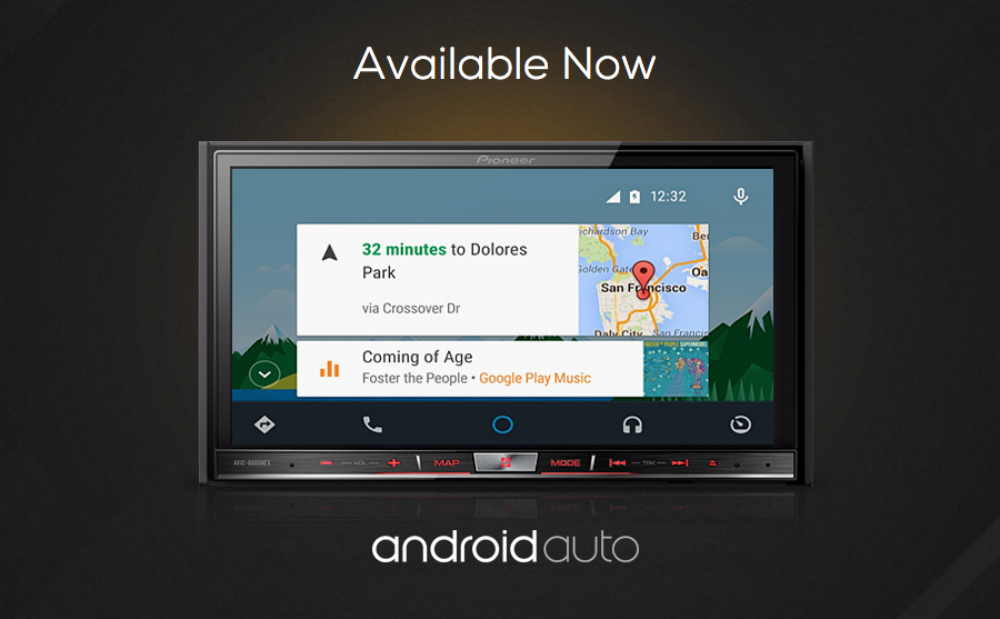 pioneer 39 s nex series of android auto head units are now. Black Bedroom Furniture Sets. Home Design Ideas