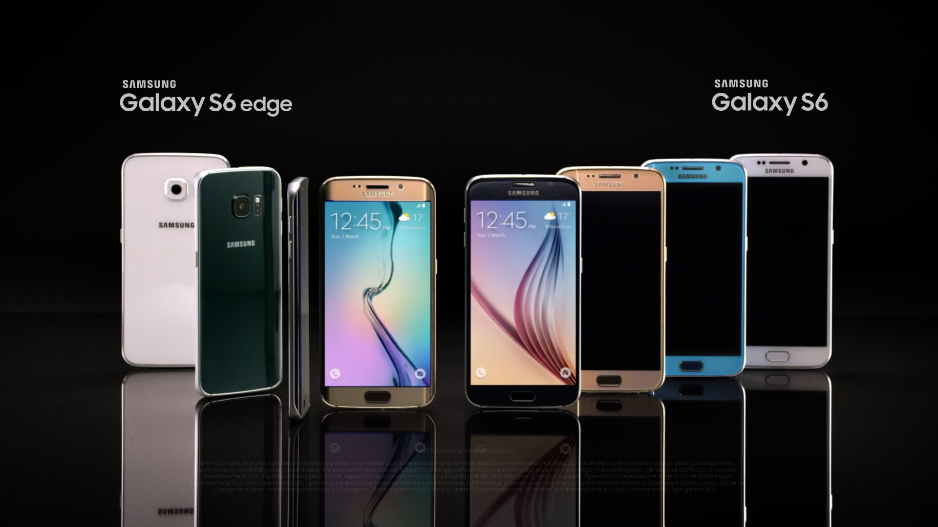 Samsung Galaxy S6 and S6 edge - Official Introduction