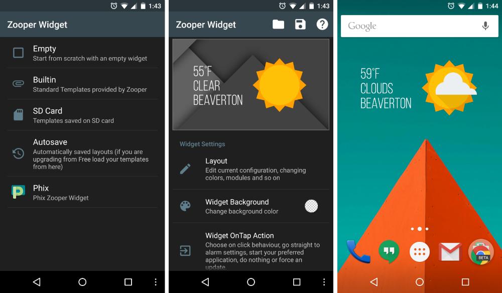 Zooper Widget Templates Deviantart