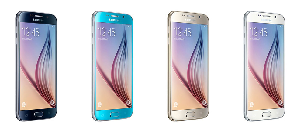 galaxy s6 colors