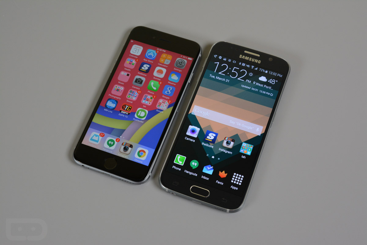 galaxy s6 vs iphone 6-9