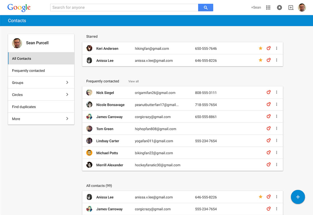 new google contacts1