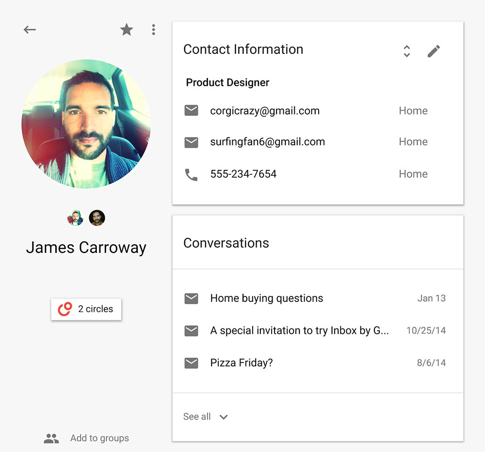 new google contacts2