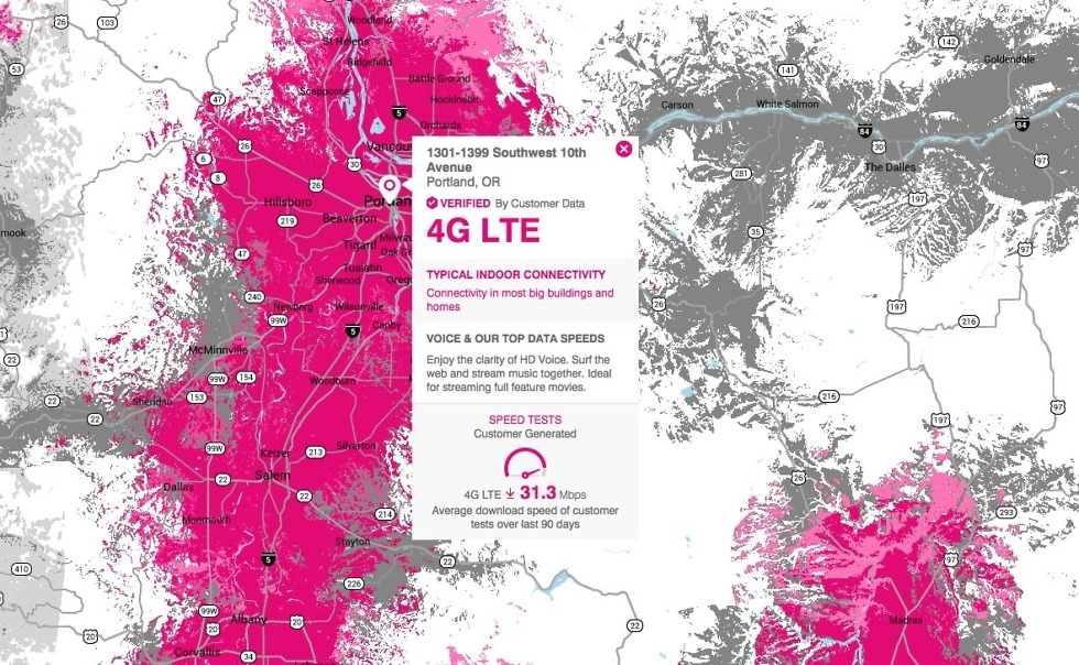 This Morning T Mobile Announced That It Has Taken Its Uncarrier Approach To Coverage Maps What Does That Mean Well They Are Ditching The Predictive