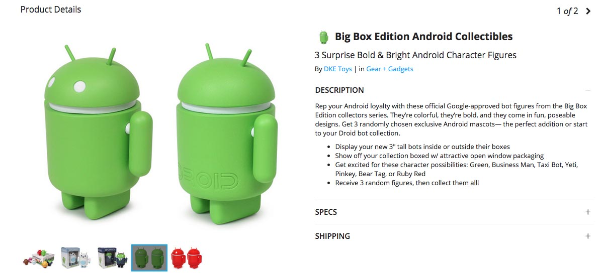 android collectible deal